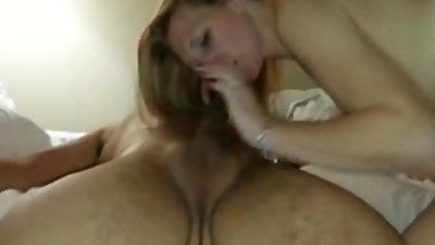 Dian rides my cock with her..