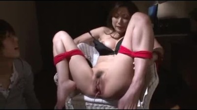 Asian MILF maid tied and..