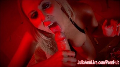 Sexy Milf Julia Ann Sucks..