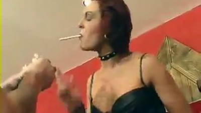 Smoking Mature Mistress and..