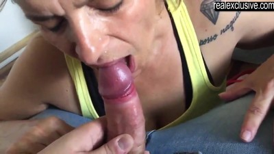 Cum meal for my mature..