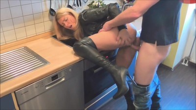 Stunning housewife fucked in..