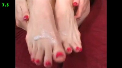 A Cumshot for Every Feet Size