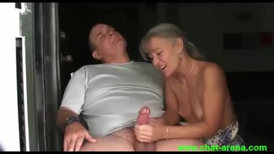 Wife Does a Nice handjob
