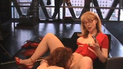 Nina Hartley and Justine..