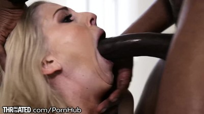 Throated Christie Stevens..