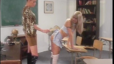 Cheerleaders Spanked, Scene 1
