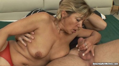 Hot Milf On Spooning..