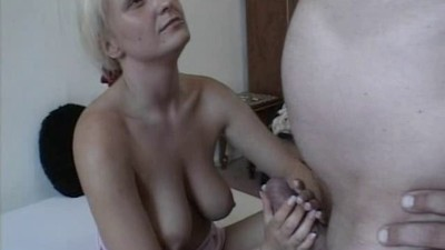 Busty amateur Milf toys and..