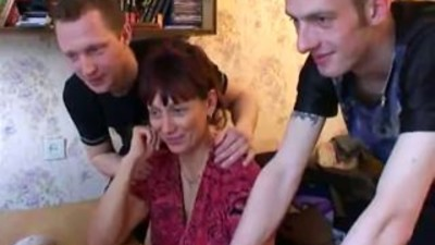 RussiAn Milf Gets Boned And..