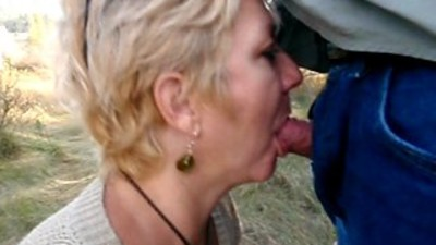 Blowjob...on a walk