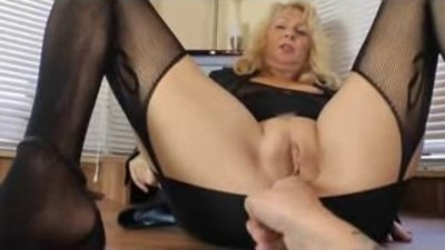 Amateur - Blond Mature Fat..