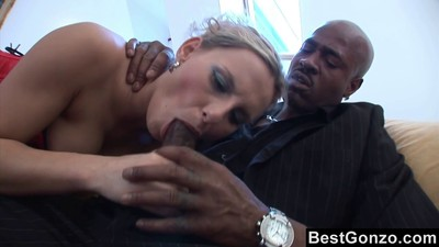 Patricia Seduces A Black Man