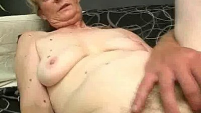 Chubby Granny Cock Sucks And..
