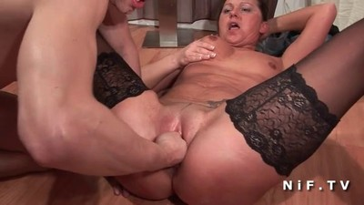 French milf fisted and..