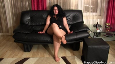 Alisa - the fetish mature..