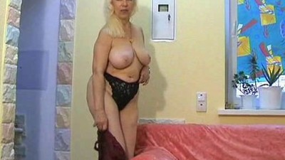 Russian Blonde Hairy Nina..