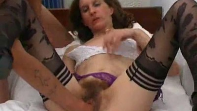 skinny french hairy mature..