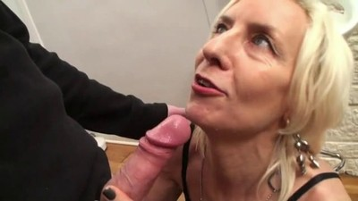 French mature Charlie fucked..