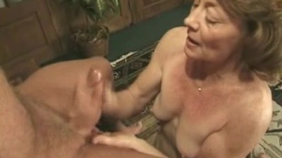Granny fucked by old-ass lover