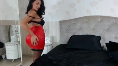 Raven Haired Milf Teases In..