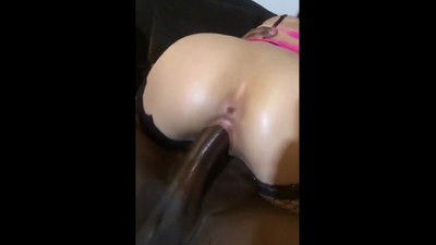 PAWG riding in slow motion