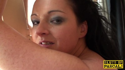 British milf gets sticky again