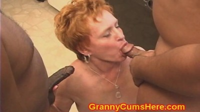 Whoring GRANNY gets FUCKED..