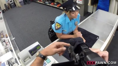 Fucking Ms. Police Officer -..