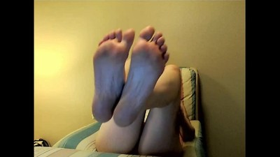 MILF Feet in Face NO SOUND