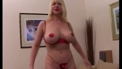 French Big Boobs Blonde..