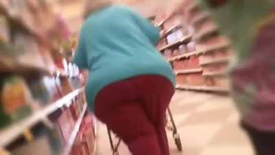 Super huge ass monster Granny