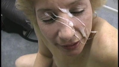 Sexy mature blonde blows..