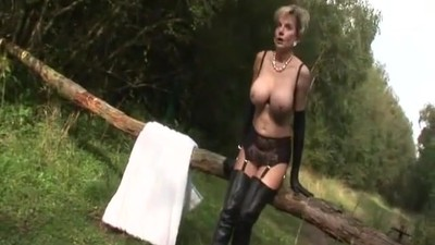 Amazing MILF Strips And..