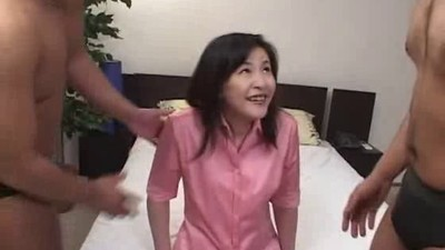 Japanese Mature Anal and DP..