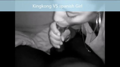 Kingkong VS Spanish Beaty