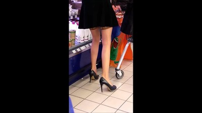 #32 Milf with sexy legs in..