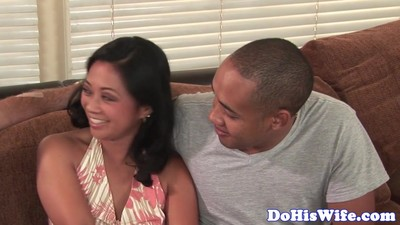 Hairy asian housewife gets..