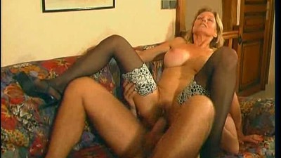 french blonde mature and a..